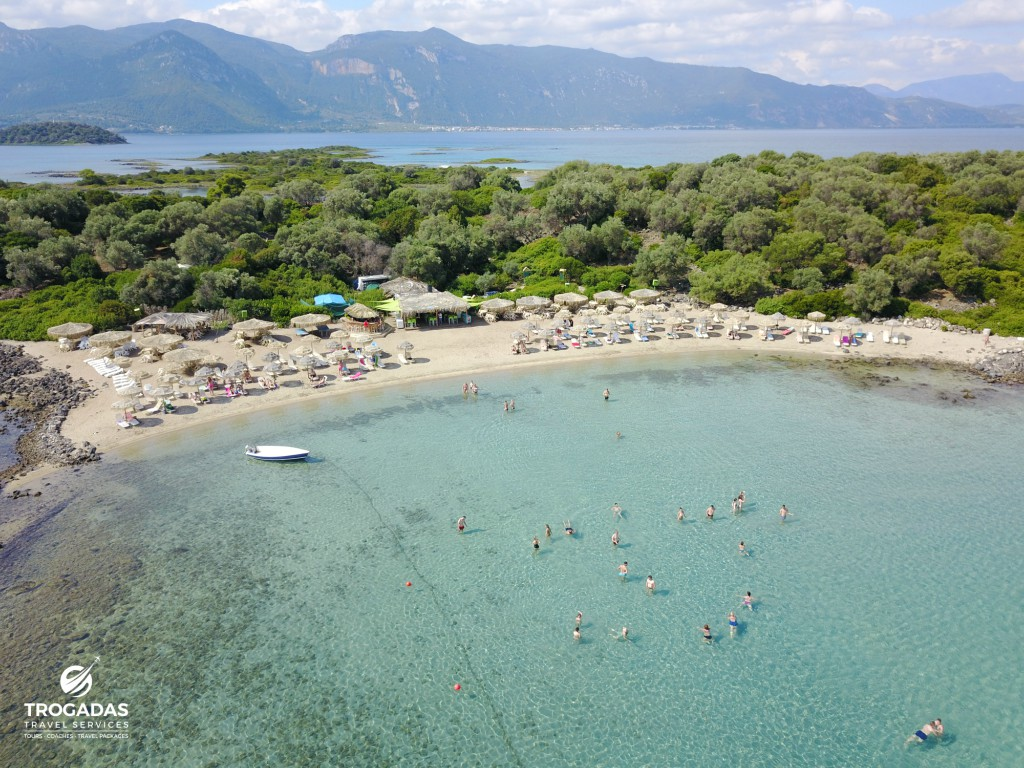 Lichadonisia Summer Cruise Trogadas Travel From Pefki Edipsos beach