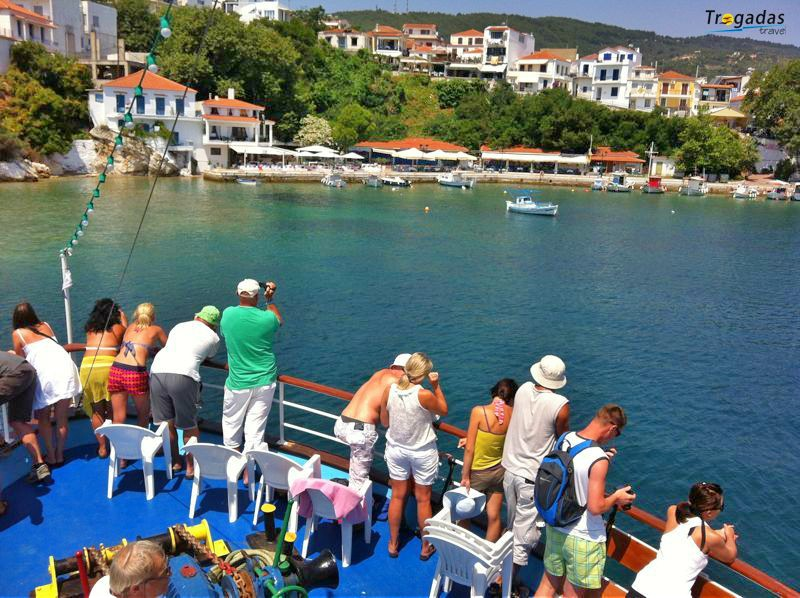 Skiathos Cruise Summer Trogadas Travel From Evia Pefki Edipsos 007