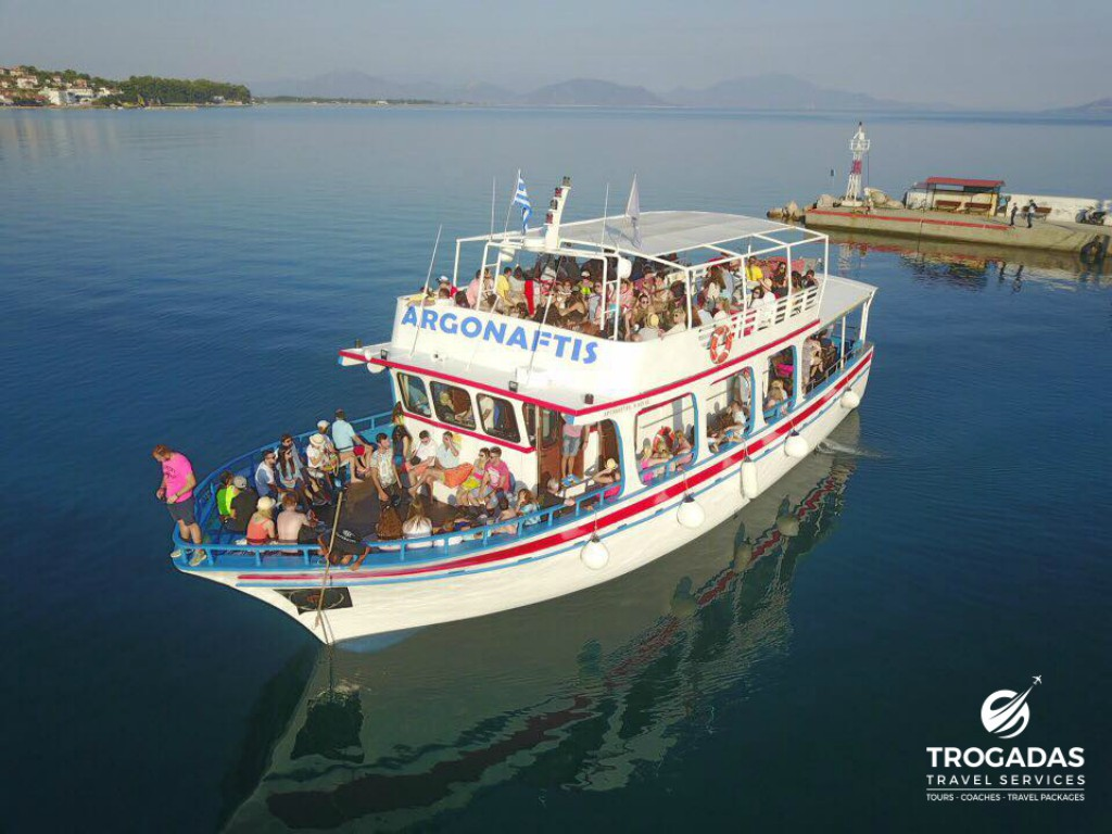 Skiathos Port Trogadas Travel Summer Cruise From Pefki argonaftis boat