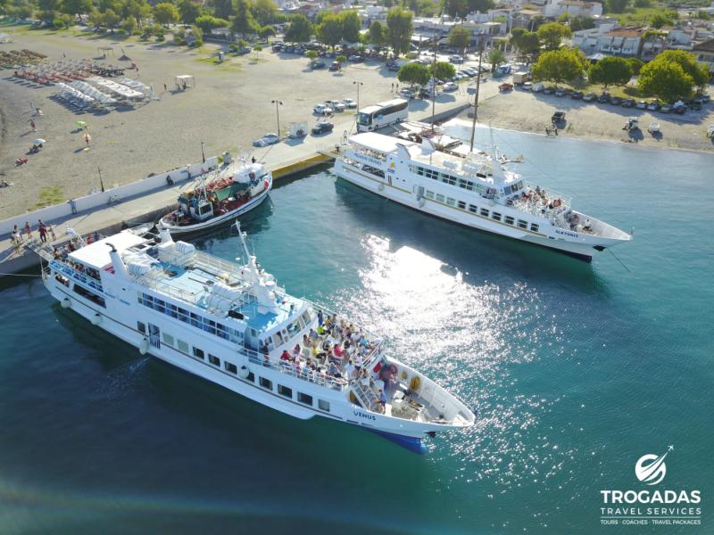 Skopelos Alonnisos Port Trogadas Travel Summer Cruise From Pefki boats cruises